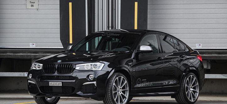 BMW X4 M40i po tuningu
