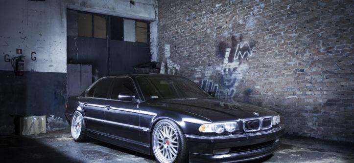 BMW E38 740i, tuning