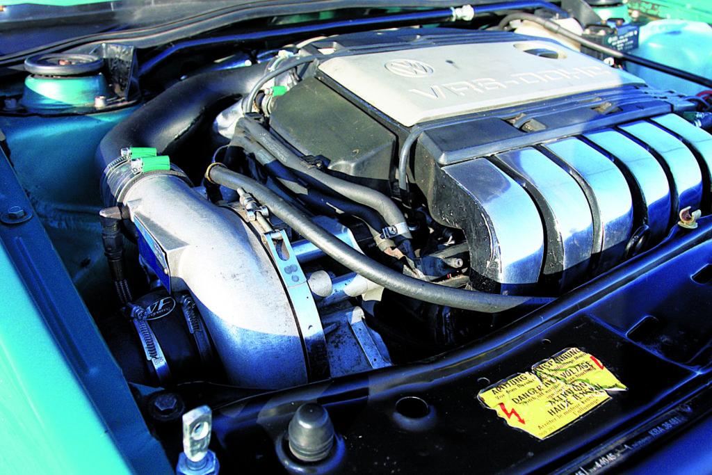 VW Golf Mk2 VR6, tuning