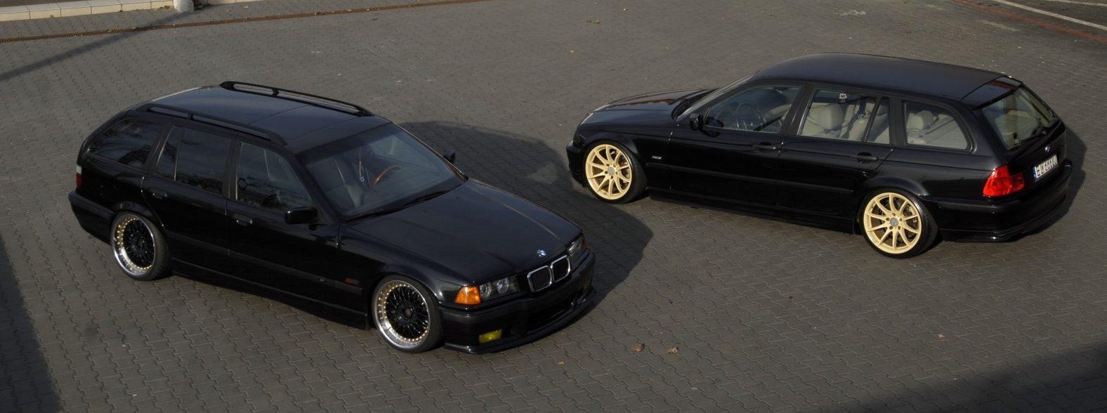 BMW E36 328i Touring i BMW E46 320D Touring
