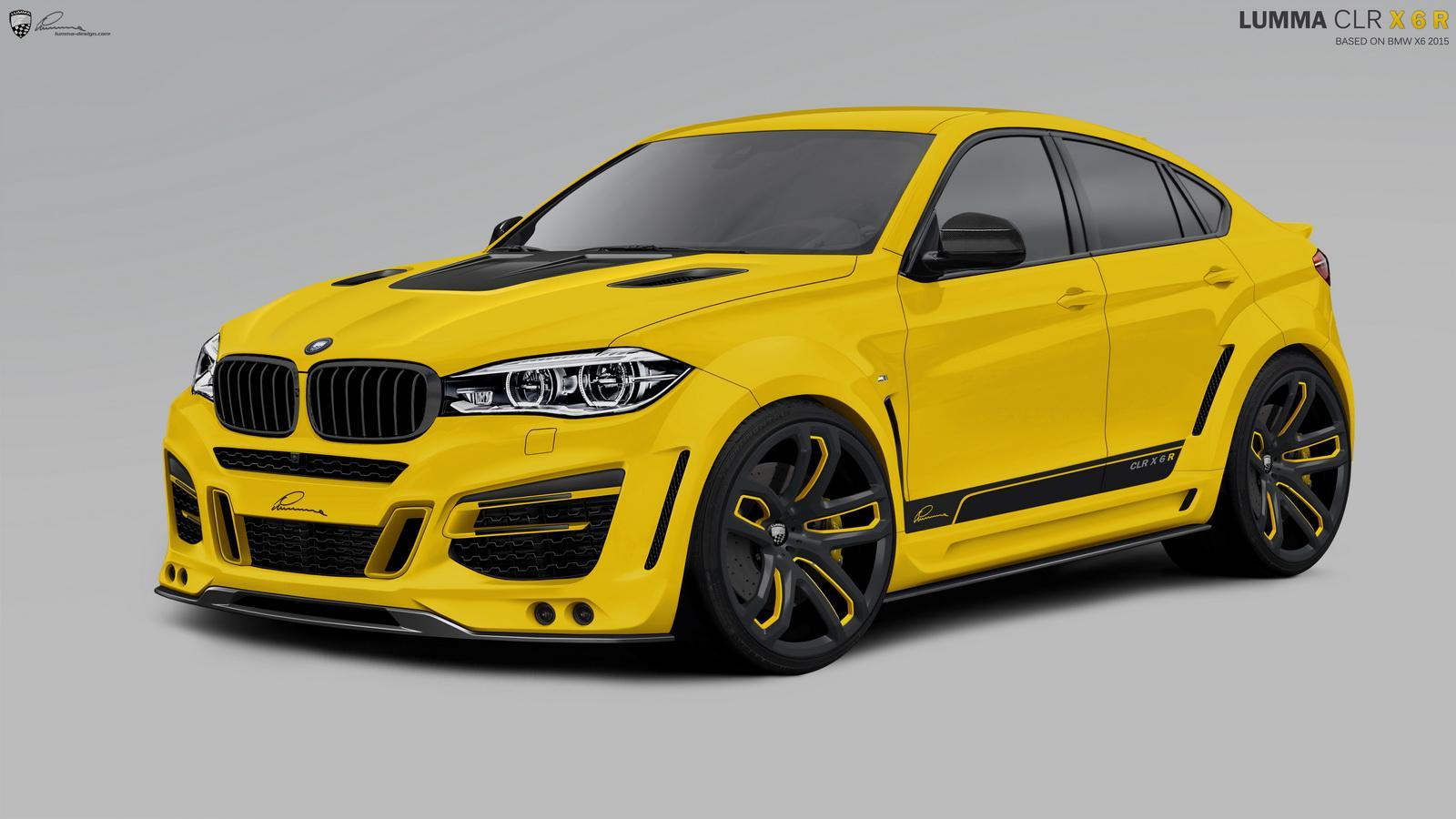 Lumma CLR X6 R, tuning BMW X6