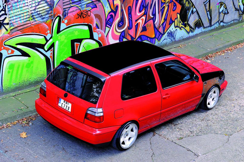 VW Golf III Bon Jovi
