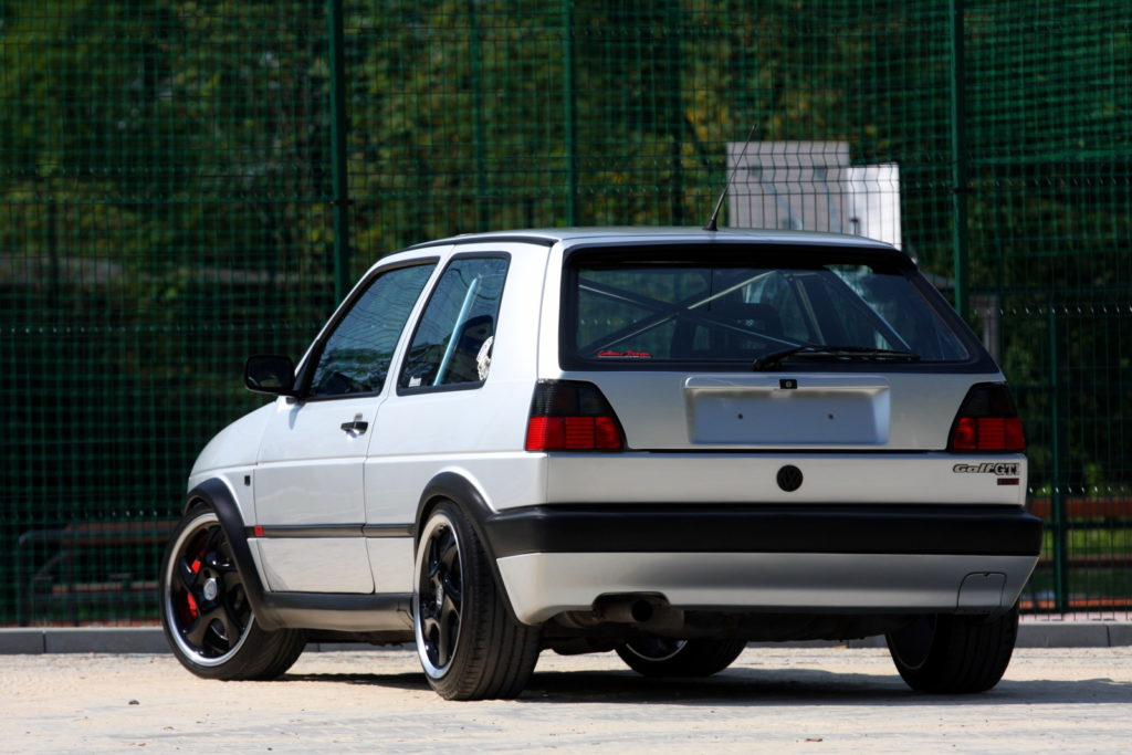 VW Golf II, tuning, swap silnika 1.8 T 20V AG