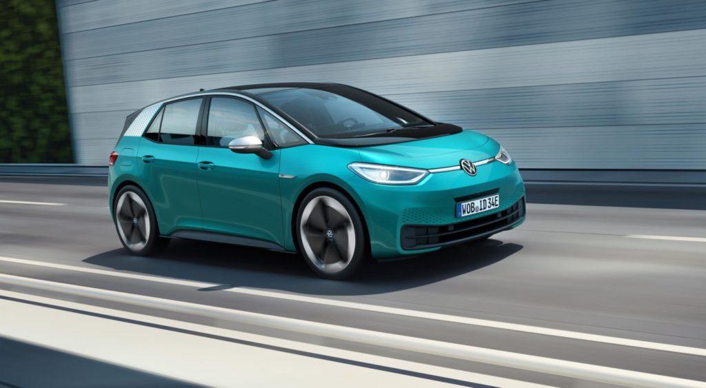 VW ID.3 w ruchu
