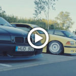 BMW E36 Stance Meet - film z jazdy