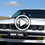 BMW E32 750iL V12 - video
