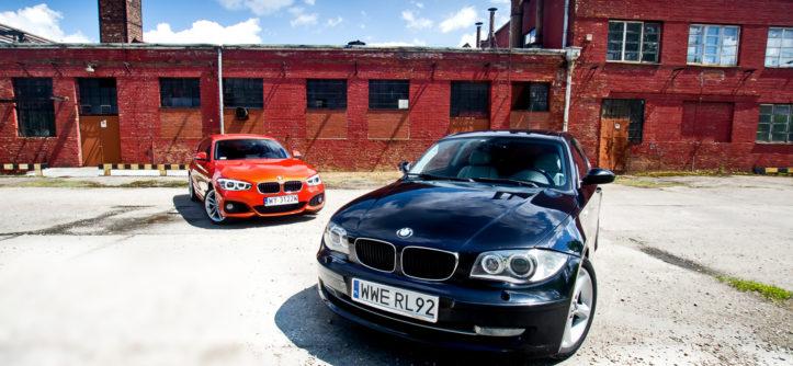 BMW_F20_118i_vs_BMW_E81_120d