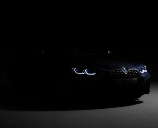 BMW 4 Coupé 2020 nerki grill