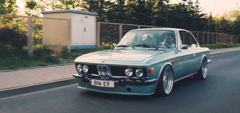 BMW E9 BBS RS Stance