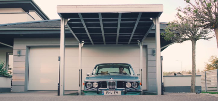 BMW E9 BBS RS Stance