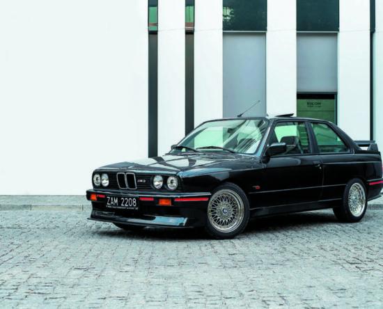 Replika BMW E30 M3 Sport Evolution