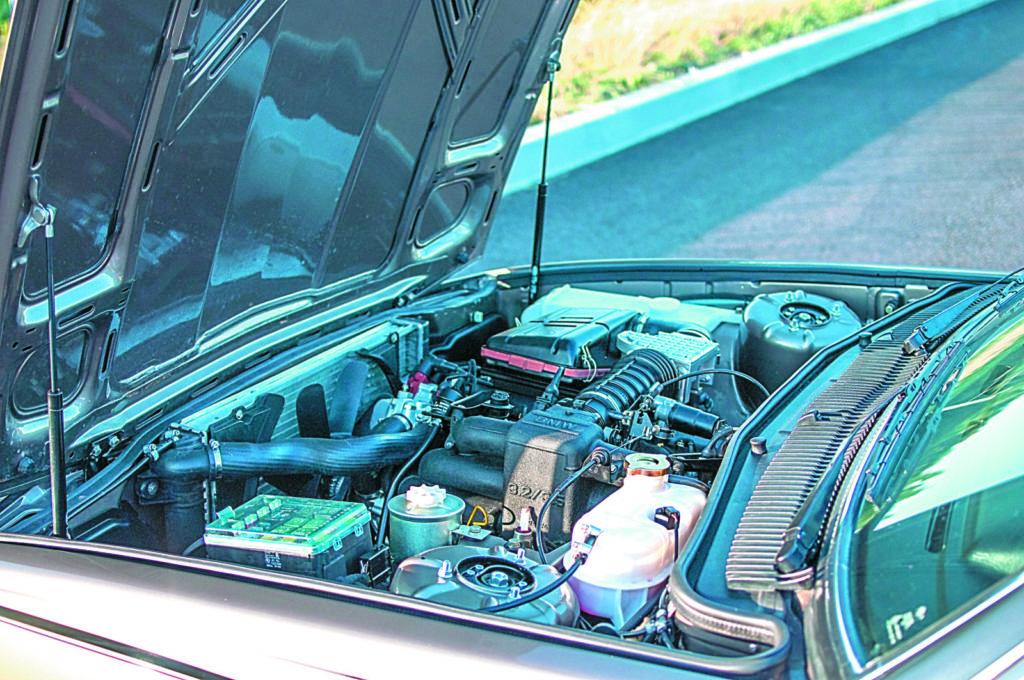 Tuning bmw e23 735ia silnik