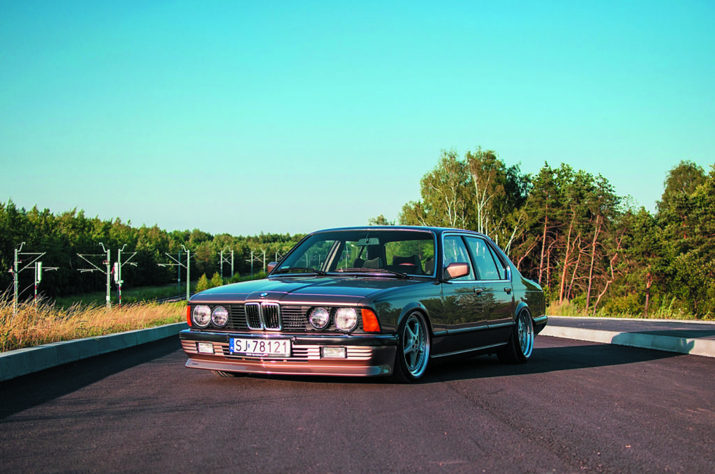 Tuning bmw e23 735ia front