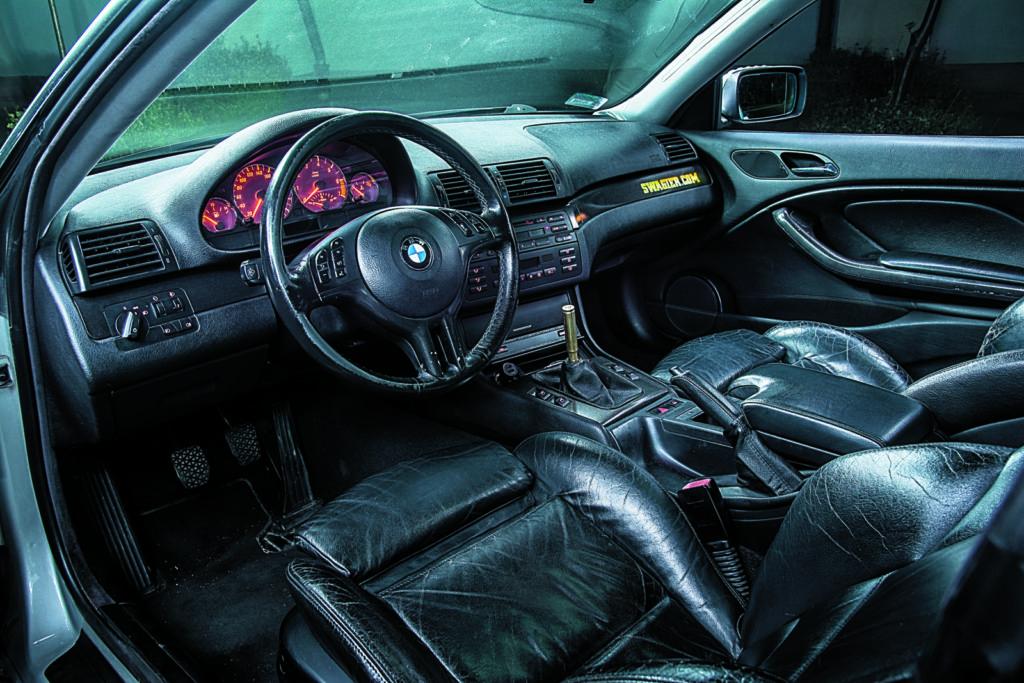 Tuning bmw e46 325i coupe wnetrze