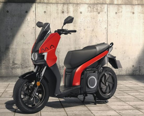 SEAT MO 125 Scooter