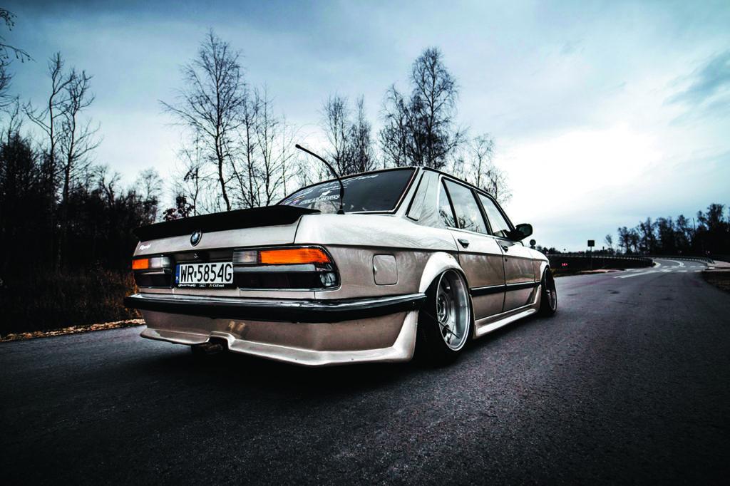 BMW E28 528i do driftingu