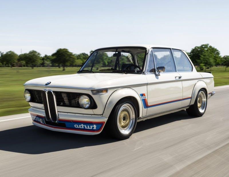 BMW 2002 turbo nerki