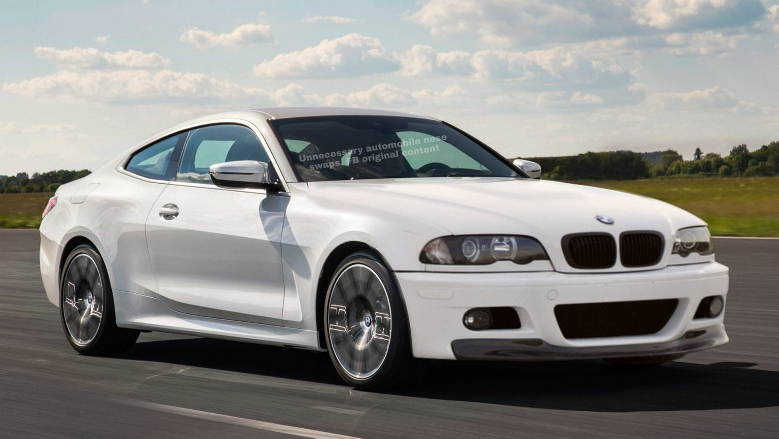 BMW 4 with E46 front