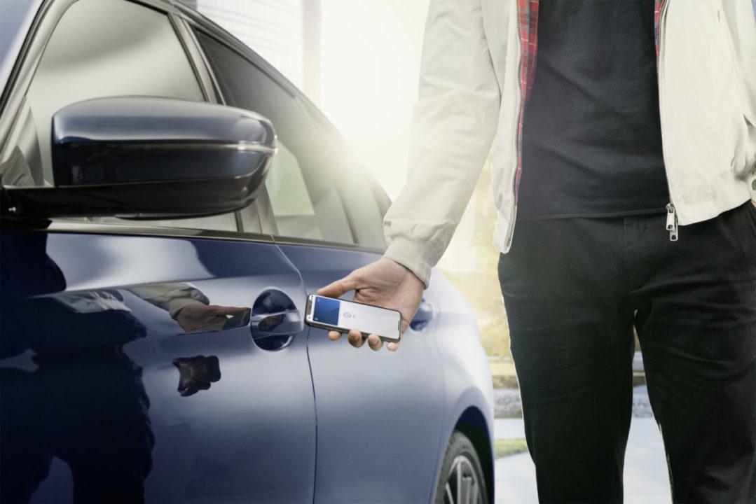 BMW iPhone kluczyk