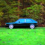 VW Scirocco 1 po tuningu i swapie silnika, widok z boku