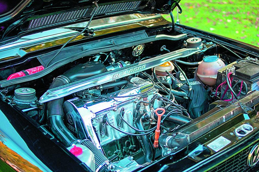 VW Scirocco 1 silnik po swapie