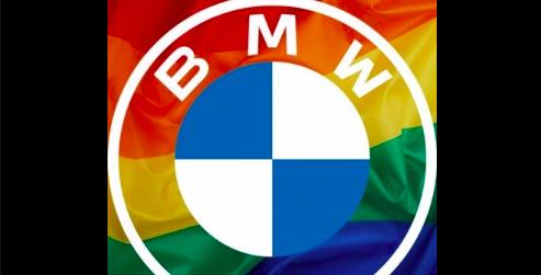 BMW PRIDE LGBT LOGO