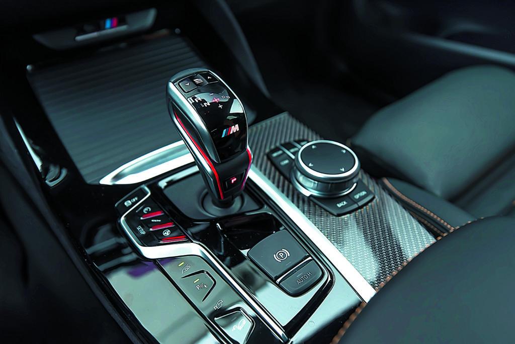 Dźwignia zmiany biegów BMW X3 M Competition
