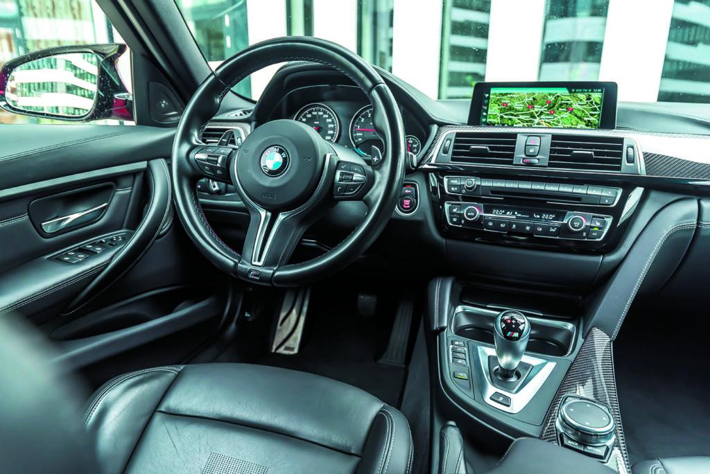 Wnętrze BMW M3 Competition
