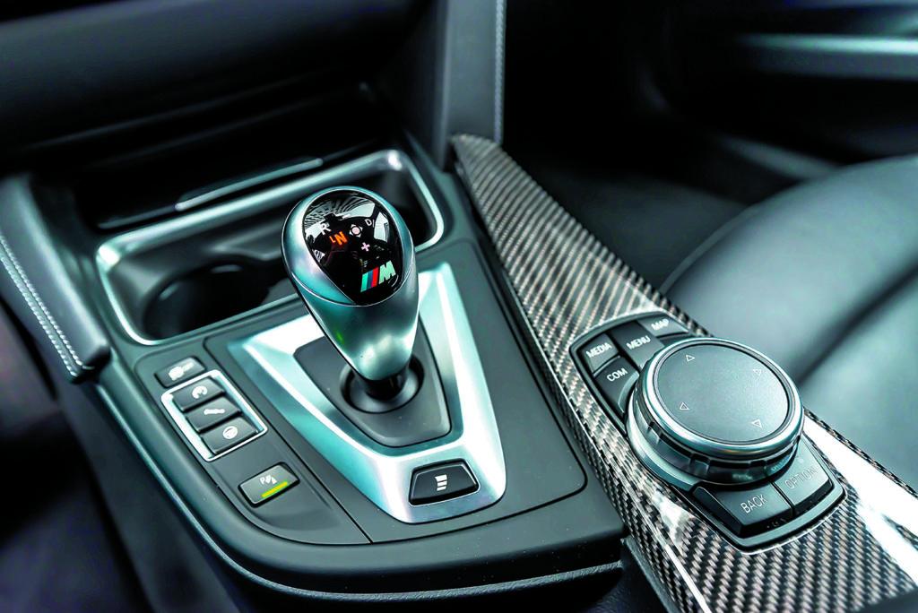 Dźwignia zmiany biegów BMW M3 Competition
