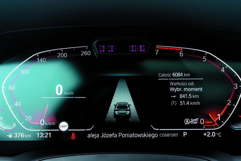Zegary BMW G21 330i Touring xDrive