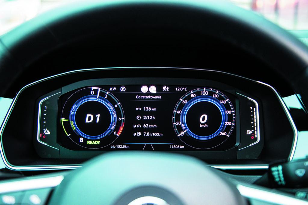 Zegary-VW-Passat-B8-GTE