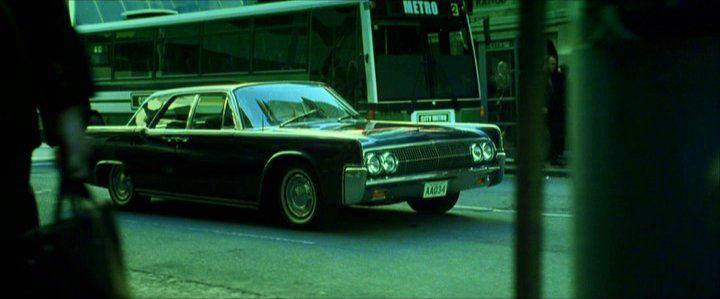 Lincoln Continental 1965 Matrix