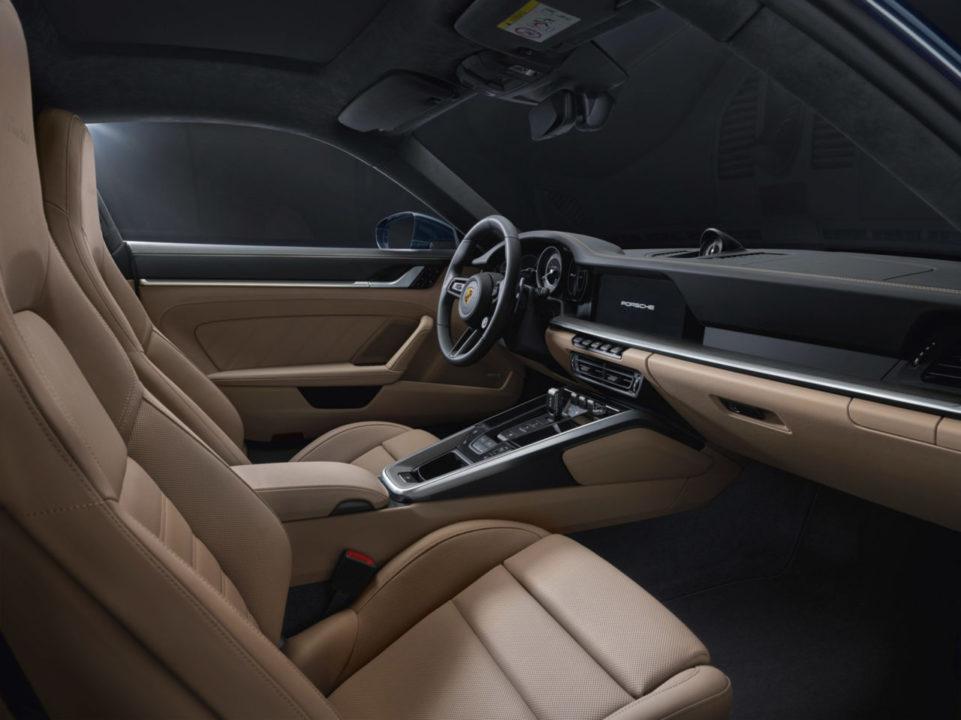wnętrze Porsche 911 Turbo