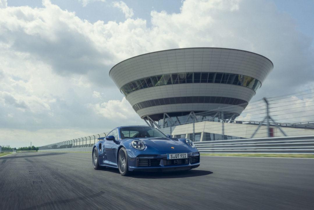 przód Porsche 911 Turbo