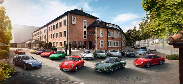 klasyczne Porsche