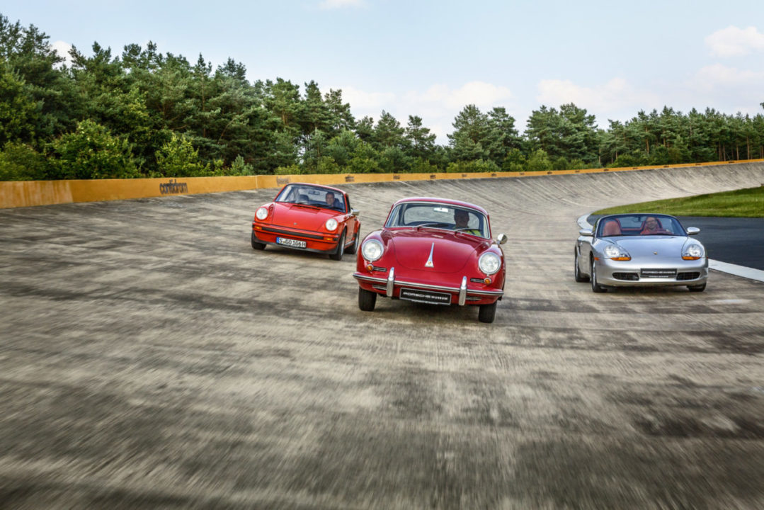 Porsche 356 na torze