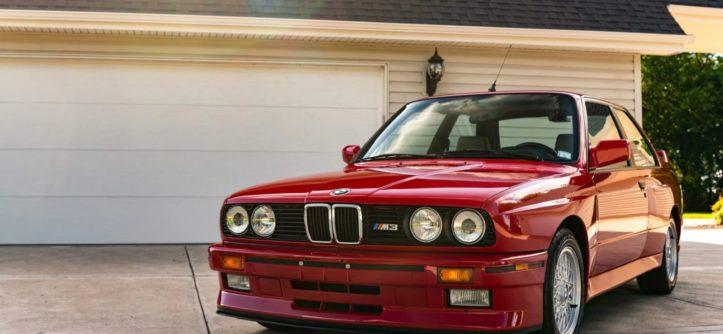 BMW E30 M3 1988 USA