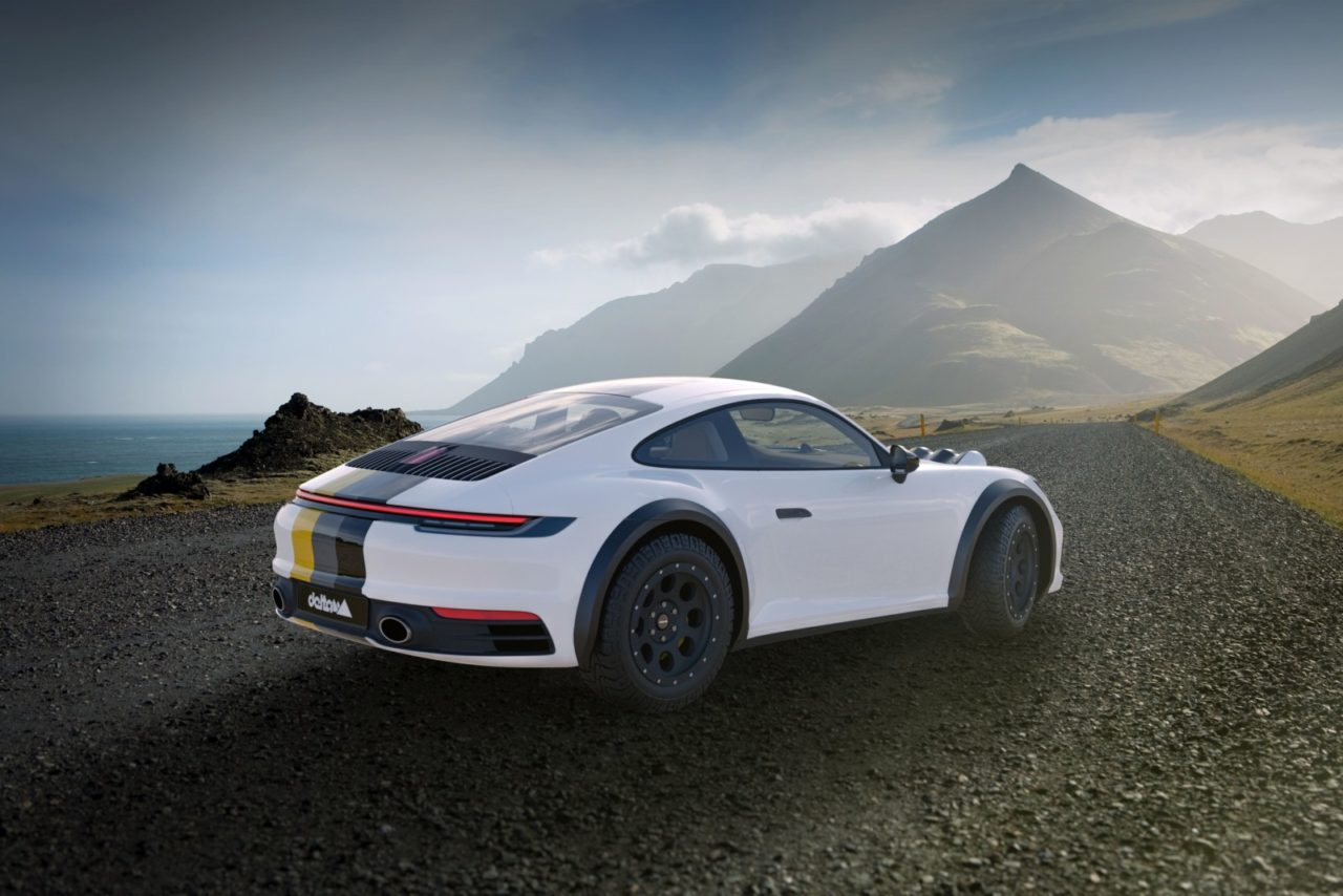 delta4x4 Porsche 911 Carrera 4S terneowe