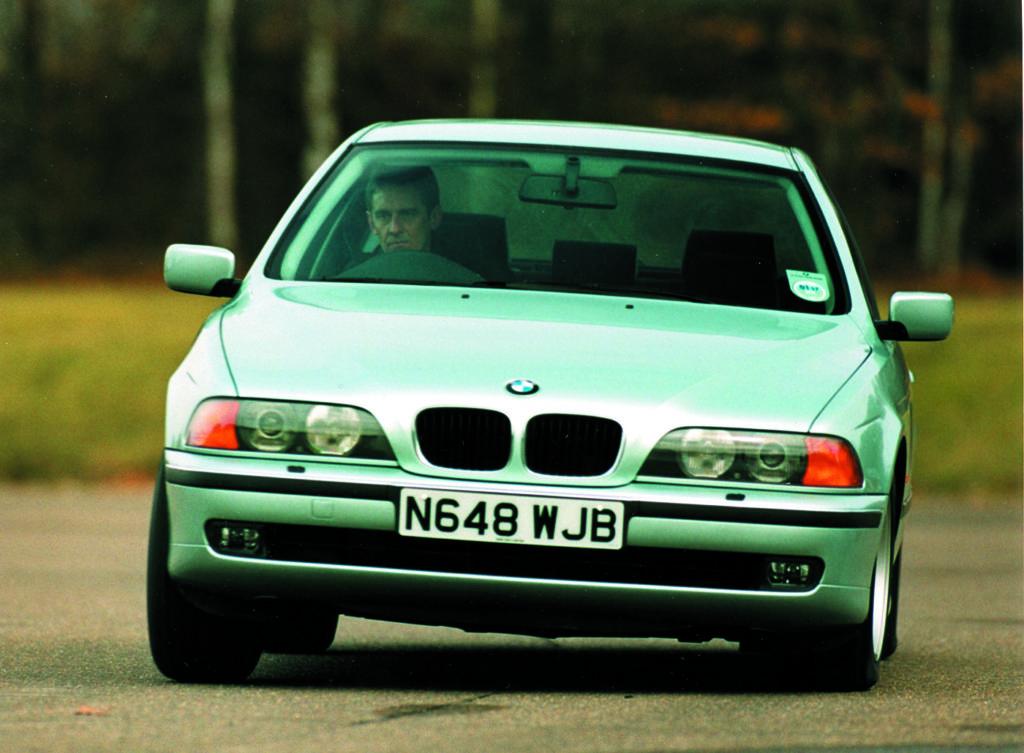 BMW E39 530d widok z przodu