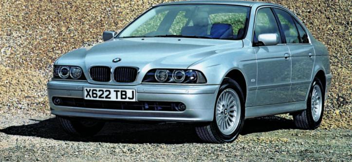 BMW E39 530d SE Automatic widok z przodu