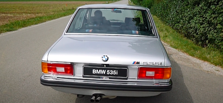535i E12 BMW Supersprint wydech