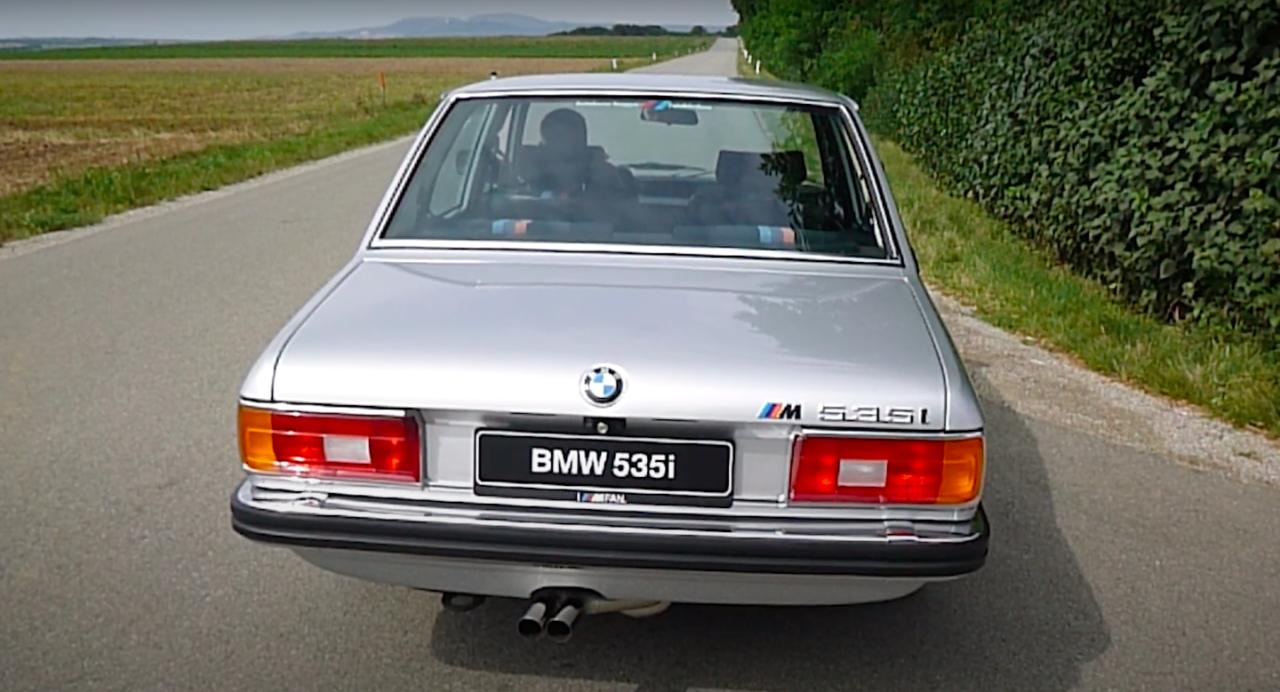 535i E12 BMW Supersprint wydech