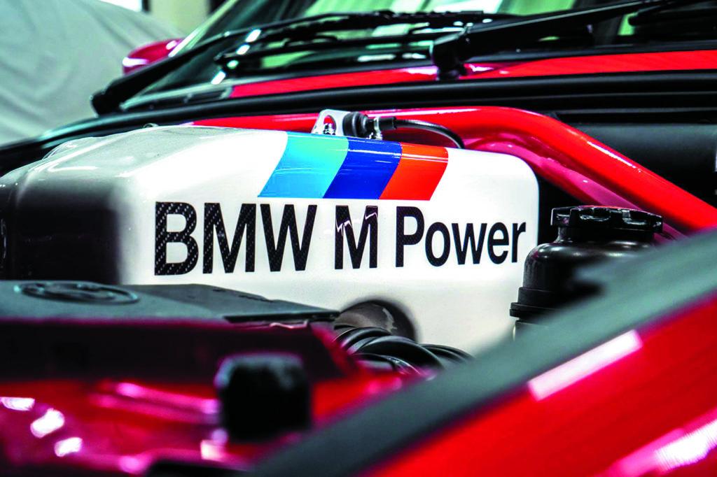 BMW E30 M3 Evo II by Schmiedmann silnik po remoncie