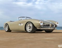 BMW 507 roadster render Abimelec Design