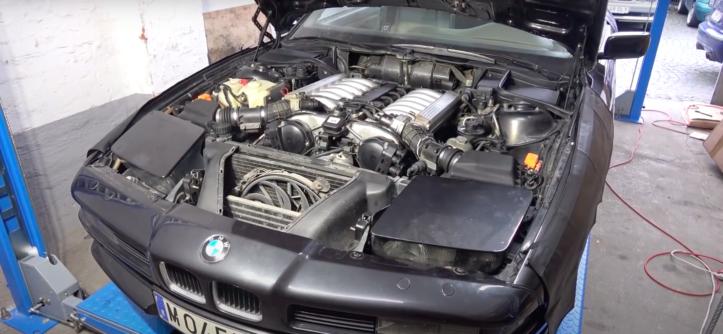 silnik M70 BMW 8 E31