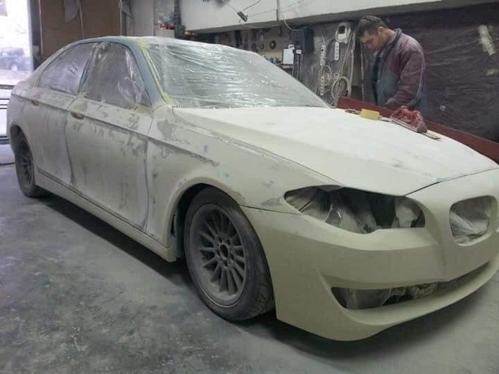 BMW E39 into F10 białe ulep