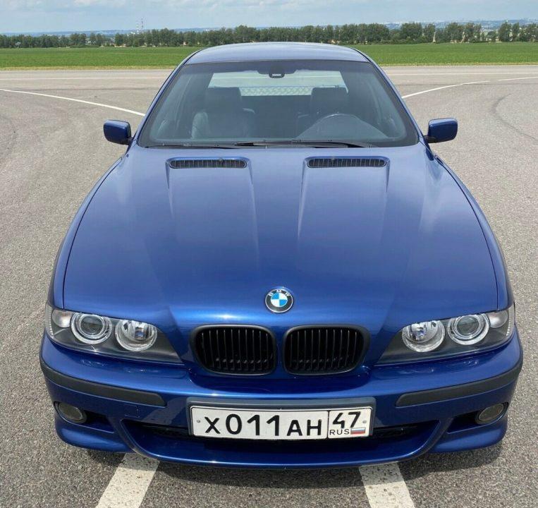 BMW E39 pickup Rosja przód