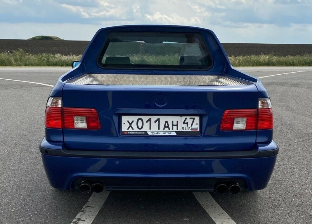 BMW E39 pickup Rosja tył