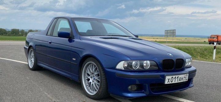 BMW E39 pickup Rosja przód bok