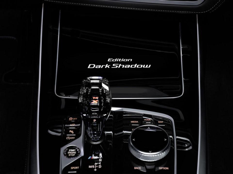 emblemat BMW Individual BMW X7 Edition Dark Shadow